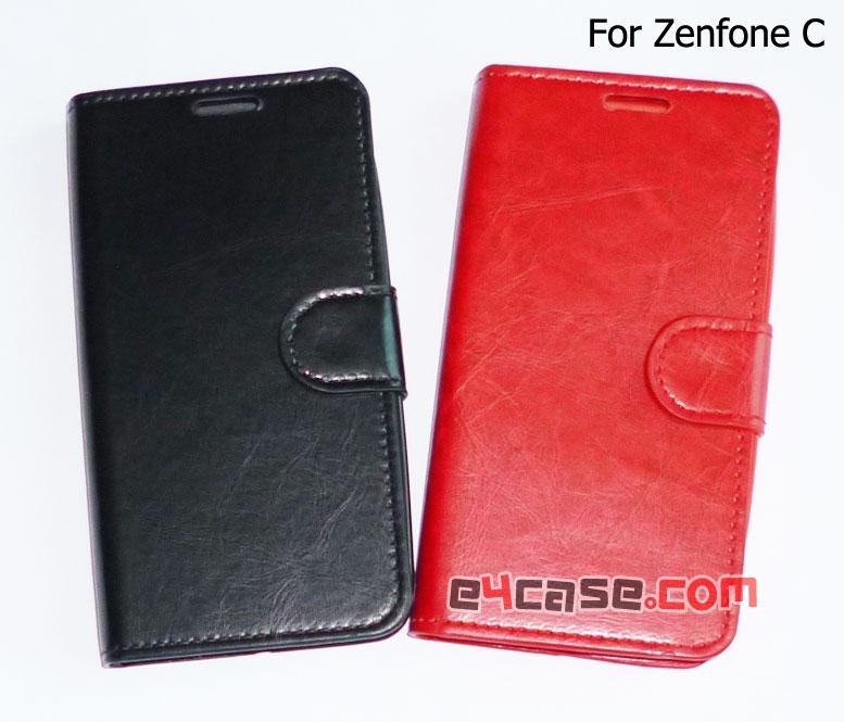 เคส Zenfone C (ASUS ZC451CG) - Ju เคสพับ