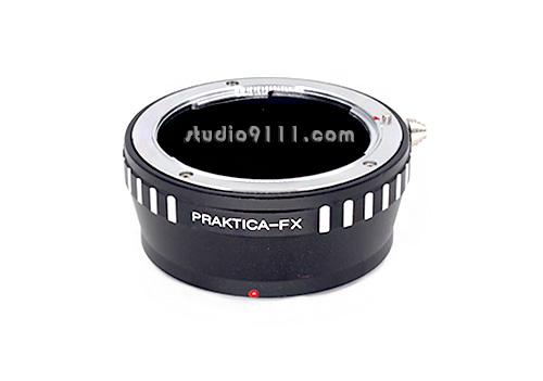 อแดปเตอร์แปลงท้ายเลนส์ PRAKTICA ใช้กับกล้อง FUJI X