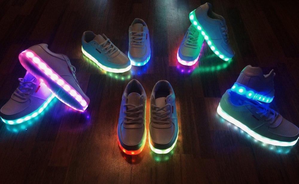 รองเท้า LED Simulation Shoes ไซส์ 42