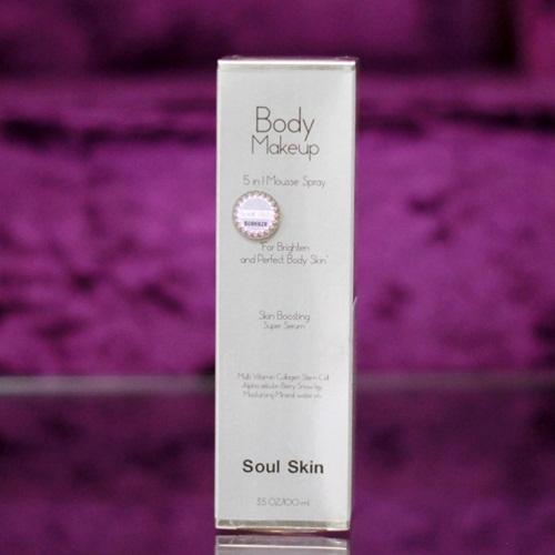 Soul Skin Body Makeup มูสครีมคูชั่น