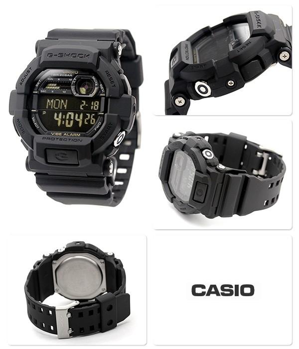 นาฬิกา คาสิโอ Casio G-Shock Standard Digital รุ่น GD-350-1BDR สินค้าใหม่ ของแท้ ราคาถูก พร้อมใบรับประกัน