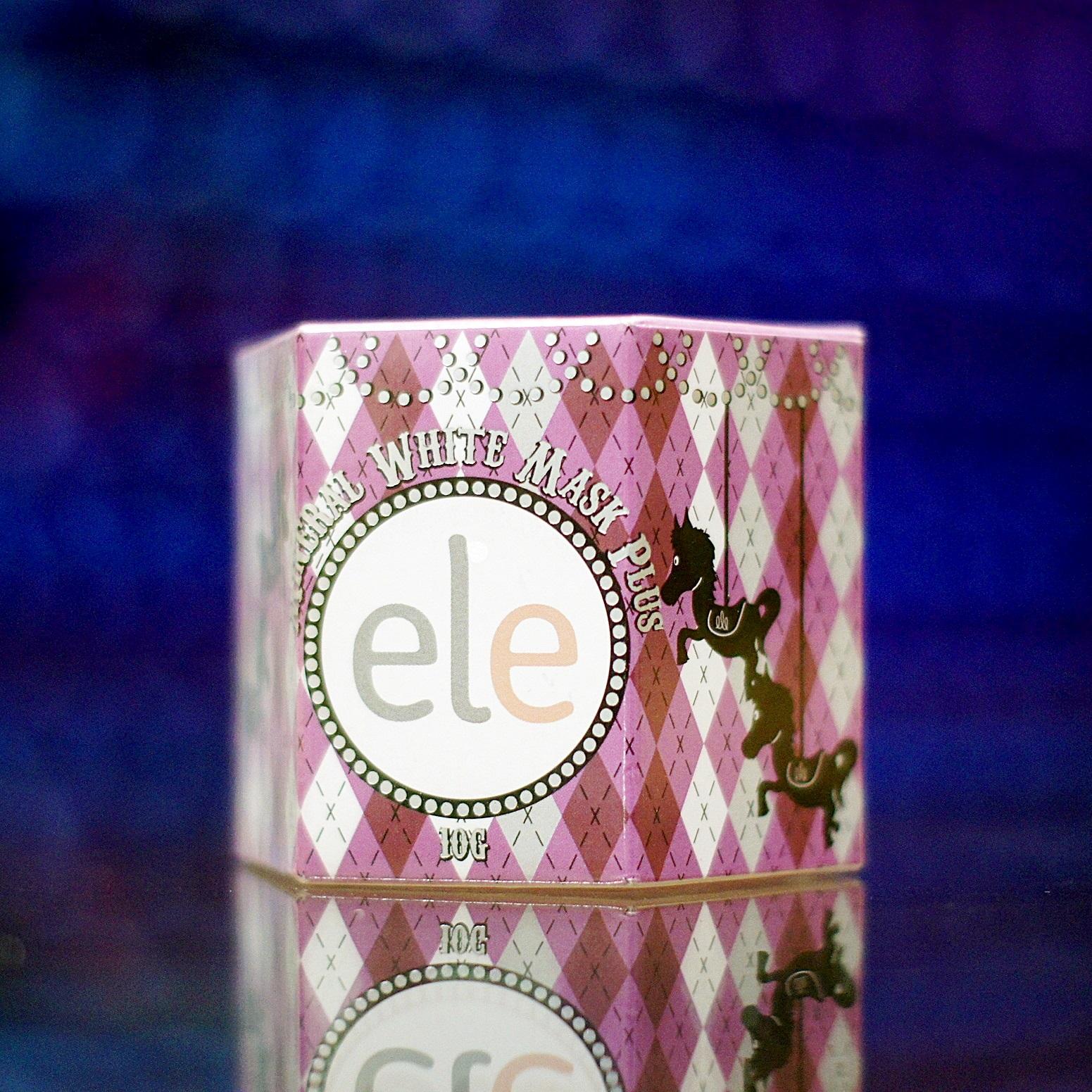 ครีมเอลลี่ มาส์กหน้าใส Ele Cream Mask 10g.แพคเกจใหม่