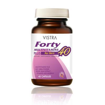 Vistra Forty Multivitamins บรรจุ 45 แคปซูล