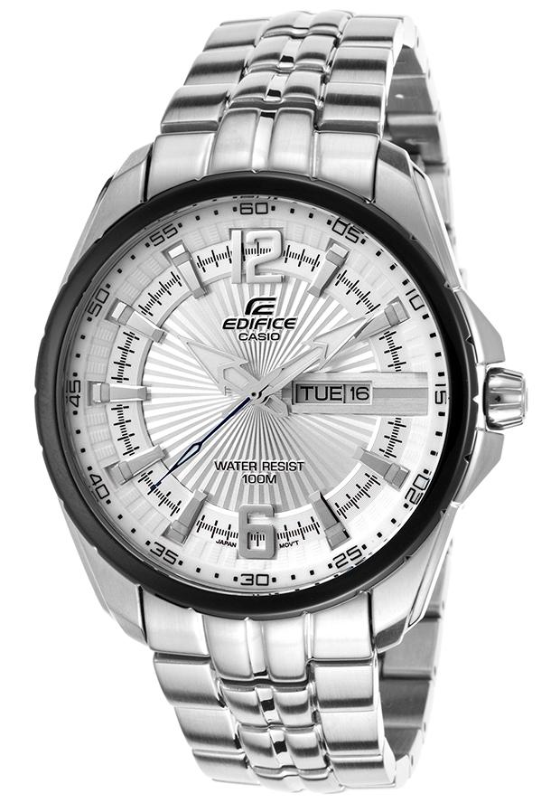 นาฬิกา คาสิโอ Casio Edifice 3-Hand Analog รุ่น EF-131D-7AV สินค้าใหม่ ของแท้ ราคาถูก พร้อมใบรับประกัน