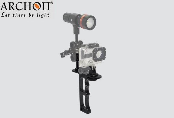 Archon Z09 Single Handheld Bracket Diving Flashlight Video Light GoPro Hero4, Hero3+, Heo3,SJ4000,SJ5000