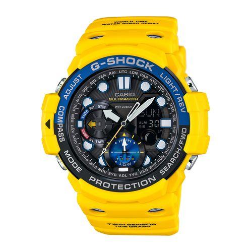 นาฬิกา คาสิโอ Casio G-Shock Gulfmaster Twin Sensor รุ่น GN-1000-9A สินค้าใหม่ ของแท้ ราคาถูก พร้อมใบรับประกัน