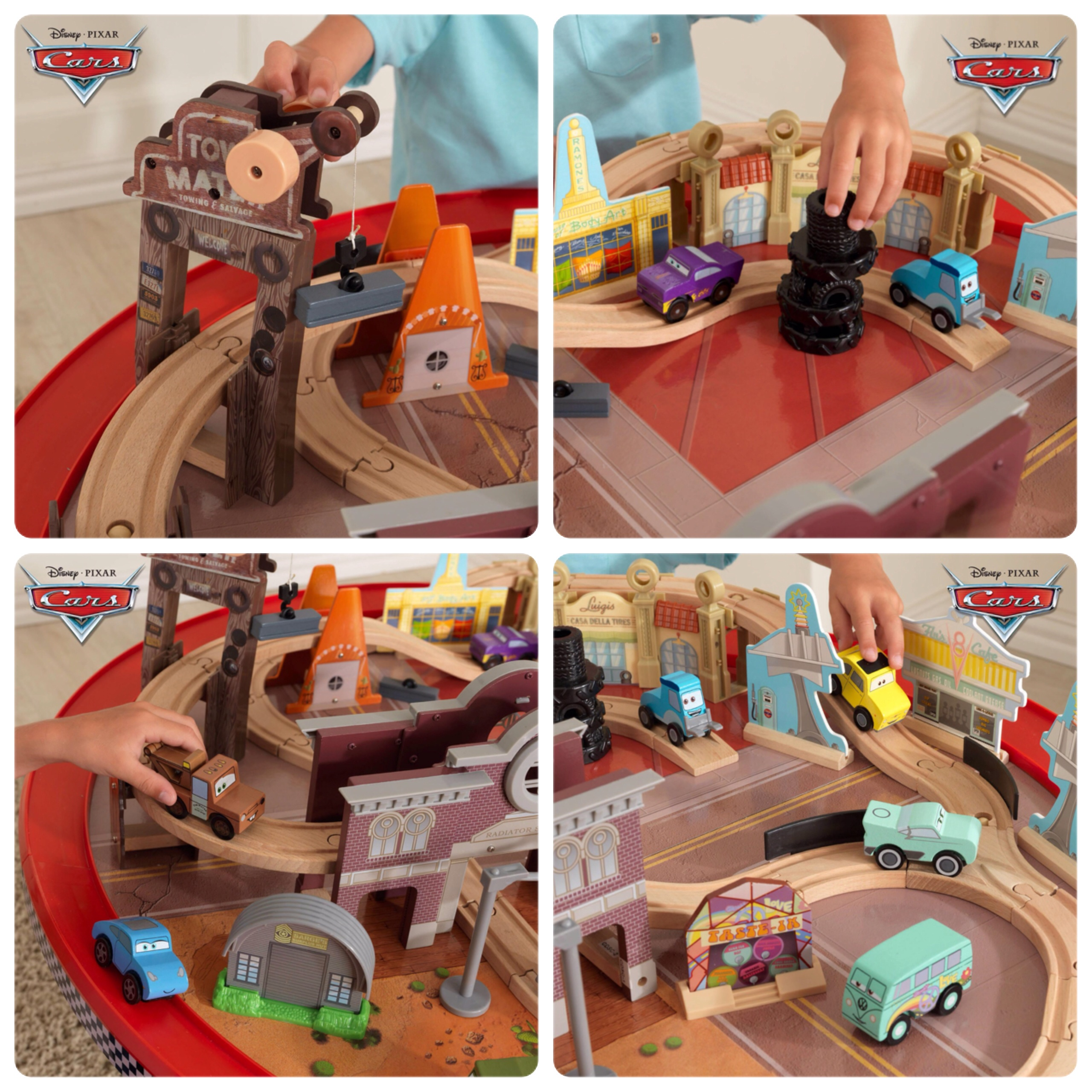 Disney Cars Race Track Instructions Cars 1 Radiator Springs Race ...