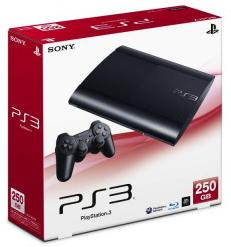 PS3 Super Slim : 250 GB ( Zone 3 ) ( เข้าศูนย์ไทยได้ 1 ปี ) ซิลิโคนจอย+ซิลิโคนอนาล็อก