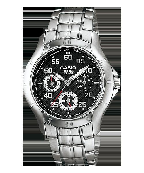 นาฬิกา คาสิโอ Casio Edifice Multi-hand รุ่น EF-317D-1AV สินค้าใหม่ ของแท้ ราคาถูก พร้อมใบรับประกัน