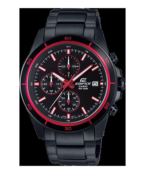 นาฬิกา คาสิโอ Casio Edifice Chronograph รุ่น EFR-526BK-1A4V สินค้าใหม่ ของแท้ ราคาถูก พร้อมใบรับประกัน