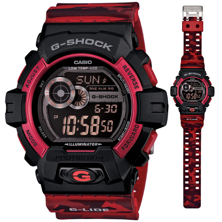 นาฬิกา คาสิโอ Casio G-Shock G-Lide Limited Models รุ่น GLS-8900CM-4 สินค้าใหม่ ของแท้ ราคาถูก พร้อมใบรับประกัน