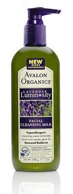 ลด 30 % AVALON ORGANICS :: Lavender Luminosity - Facial Cleansing Milk ครีมน้ำนมล้างหน้า สะอาดหมดจด เพื่อผิวนุ่มชุมชื่น กระจ่างใส