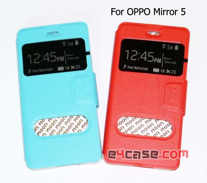 เคส Mirror 5 (OPPO) - moon โชว์เบอร์
