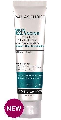 ลด 20 % PAULA'S CHOICE :: Skin Balancing Ultra-Sheer Daily Defense SPF 30 โลชั่นผสานสารกันแดด สำหรับผิวมัน