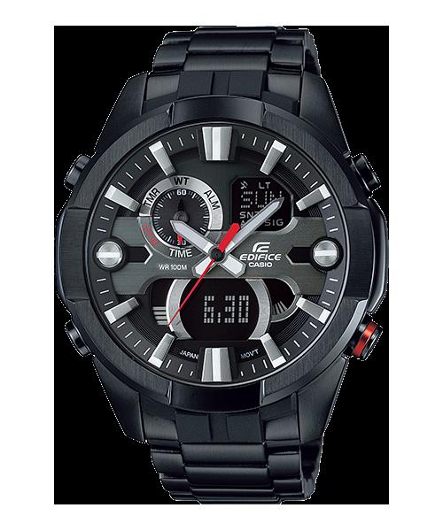นาฬิกา คาสิโอ Casio Edifice Analog-Digital รุ่น ERA-201BK-1AV สินค้าใหม่ ของแท้ ราคาถูก พร้อมใบรับประกัน