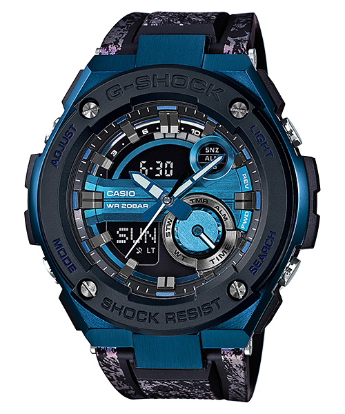 นาฬิกา คาสิโอ Casio G-Shock G-Steel Complex Dial รุ่น GST-200CP-2A สินค้าใหม่ ของแท้ ราคาถูก พร้อมใบรับประกัน