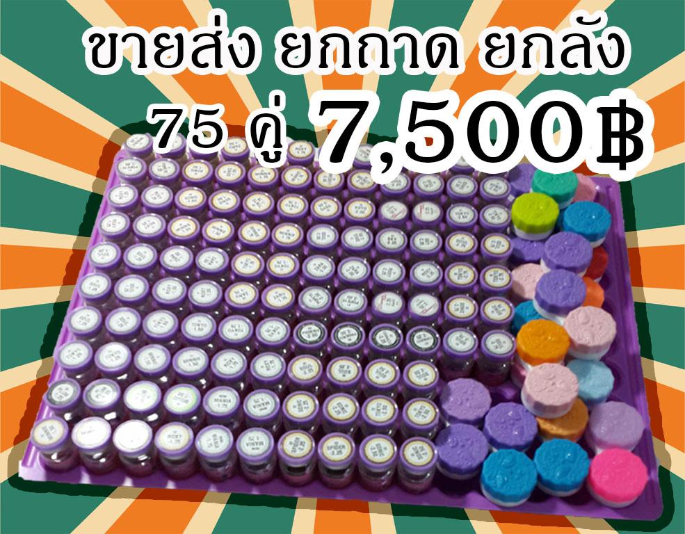 Dreamcolor 1 ยกถาด 75 คู่ ราคาเบาๆ ของแถมเพียบ