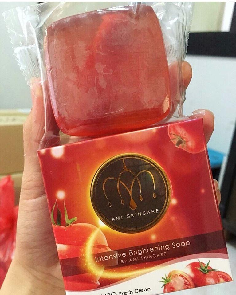 สบู่มะเขือเทศ Tomato Soap by ami (Ami intensive brightening soap)