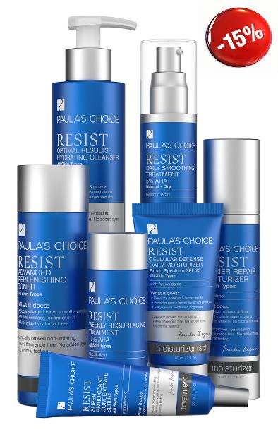 PAULA'S CHOICE Resist Advanced Kit for Wrinkles + Sun Damage