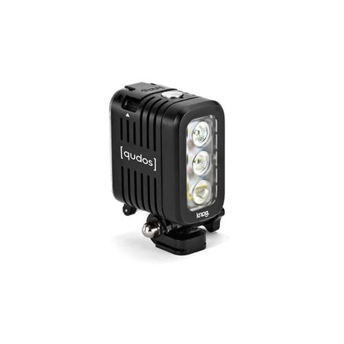 Qudos ไฟฉายติดกล้อง GoPro สีดำ กันน้ำได้ 40m
