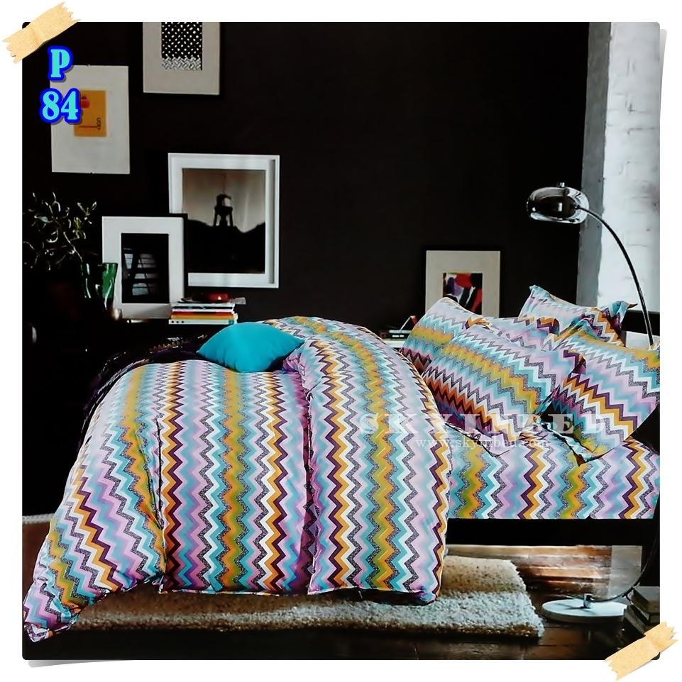 ผ้าปูที่นอน 6 ฟุต(5 ชิ้น) เกรดพรีเมี่ยม[P-84]