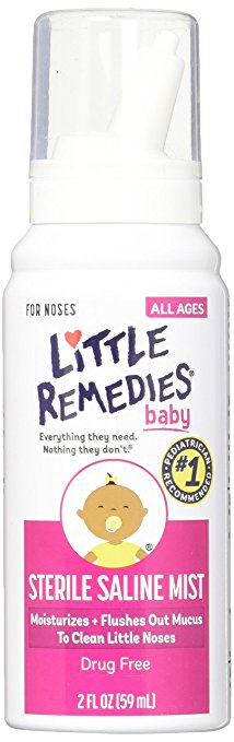 Little Remedies Baby Sterile Saline Mist 59mL