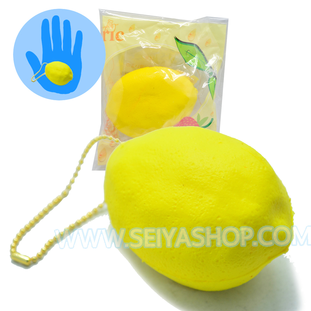 CA733 สกุชชี่ Eric lemon (super soft) ขนาด7cm