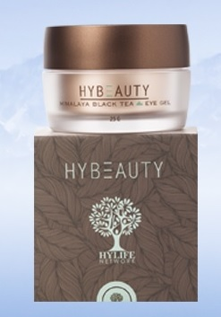 Hybeauty Himalaya Black Tea Eye Gel ไฮบิวตี้ หิมาลายา แบล็ค ที อายเจล เจลทารอบดวงตา 25gm