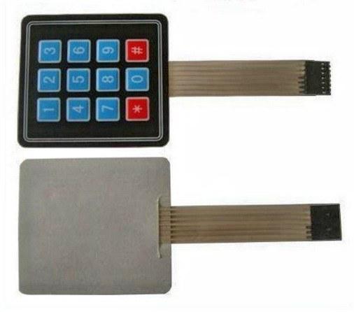 3x4 Matrix Keypad