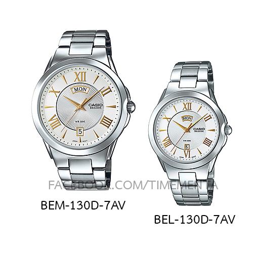 Casio BEM-130D-7AV+BEL-130D-7AV