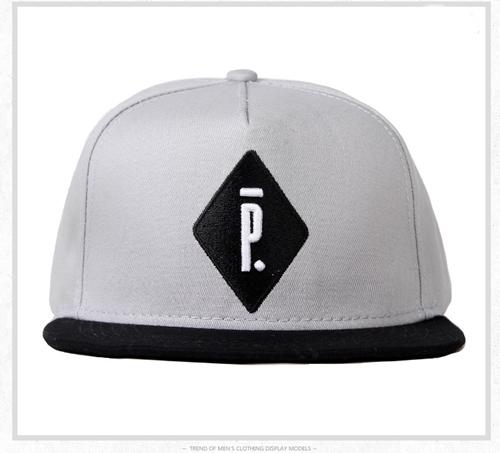 หมวกแฟชั่น หมวกฮิปฮอป บีบอย PIGALLE สีเทา