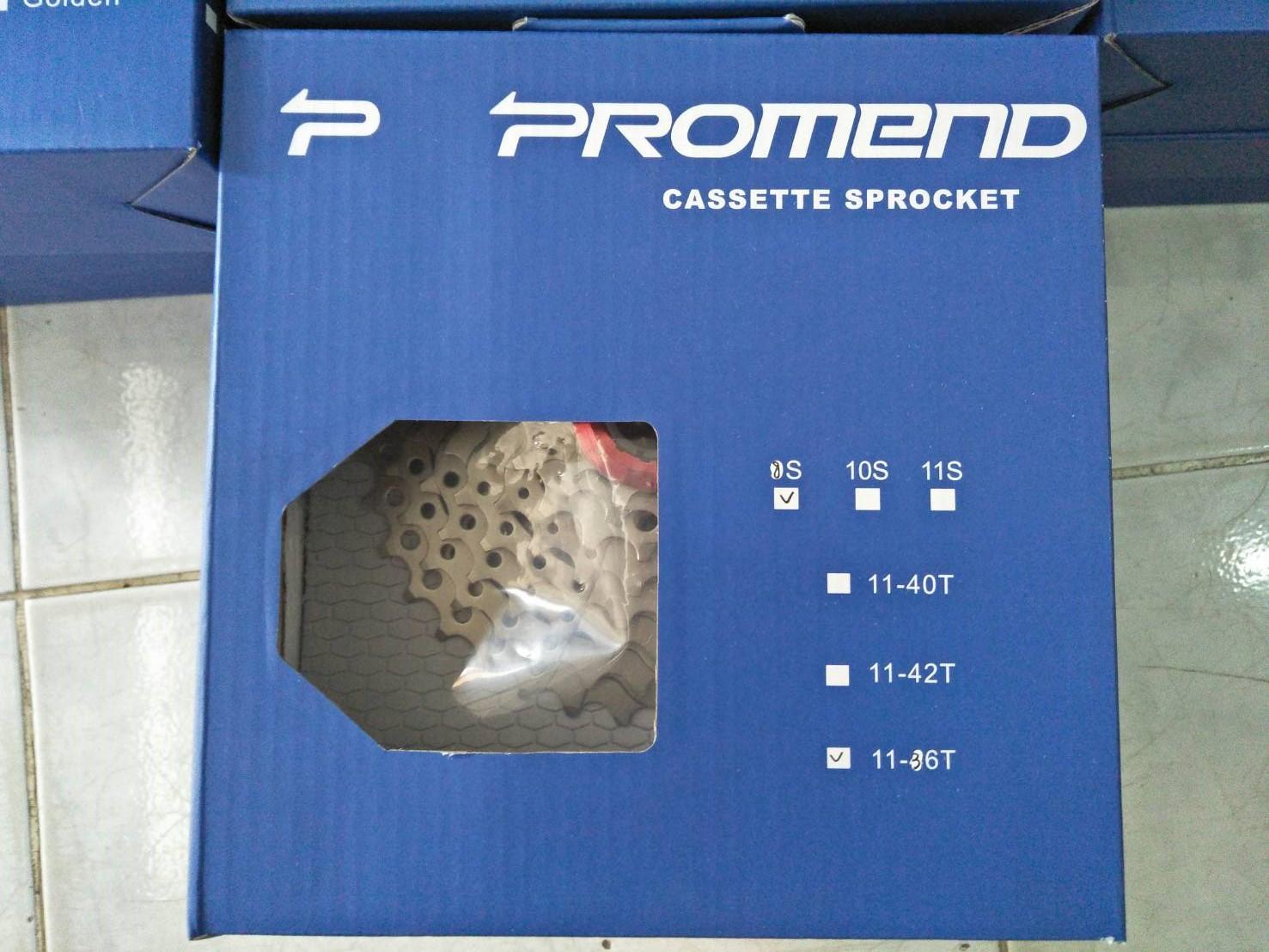 เฟืองหลัง Promend สำหรับเกียร์ 8 9 10 11 Speed