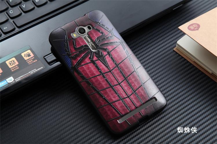 """เคส asus zenfone 2 laser 5.5 """" ze550kl TPU พิมพ์ลาย 3D SPIDER"""