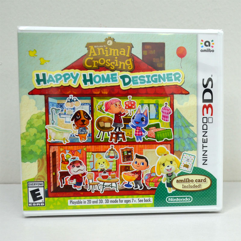3DS (US) Animal Crossing: Happy Home Designer English Version