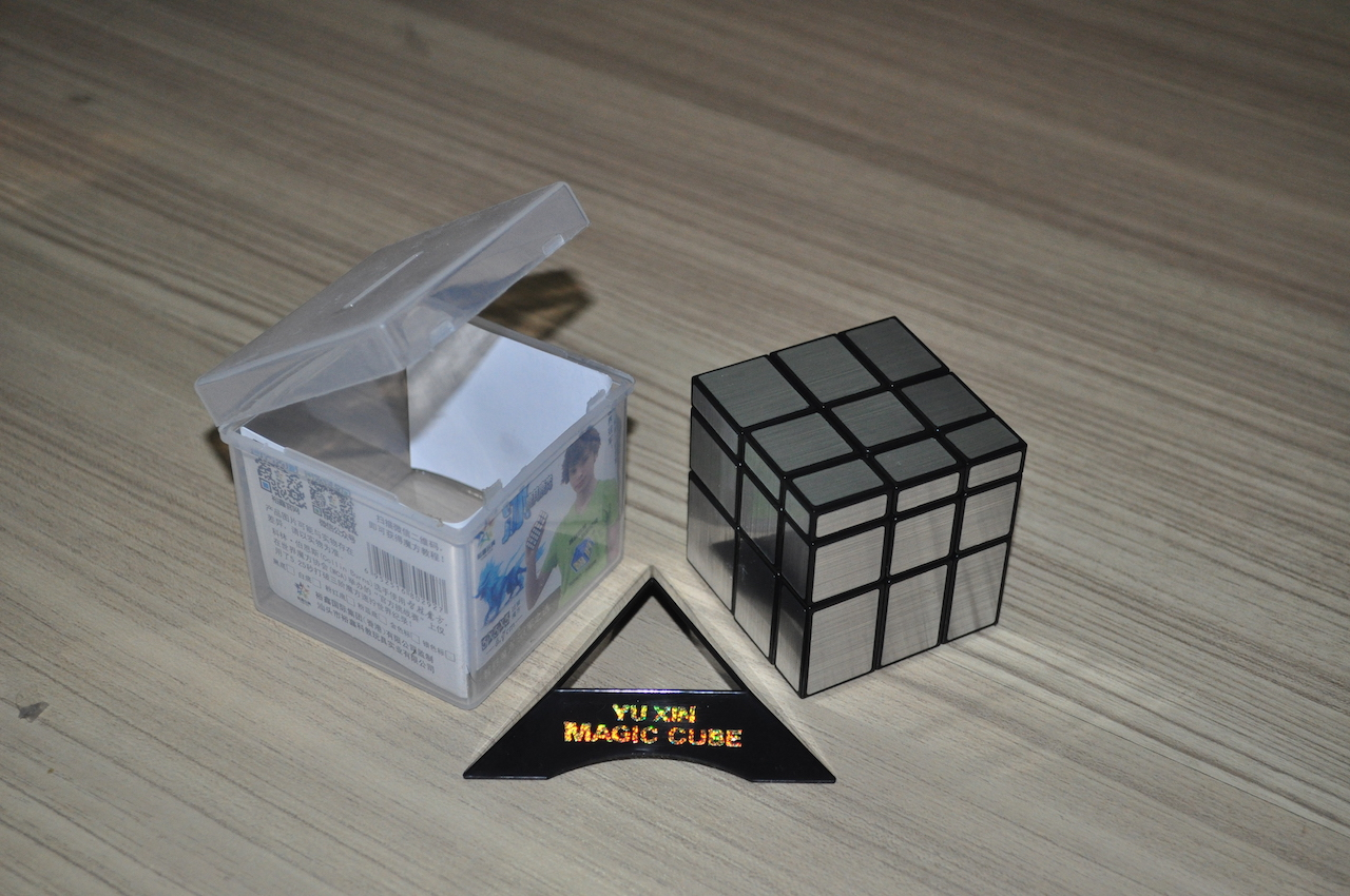 Yuxin Mirror Black/Silver