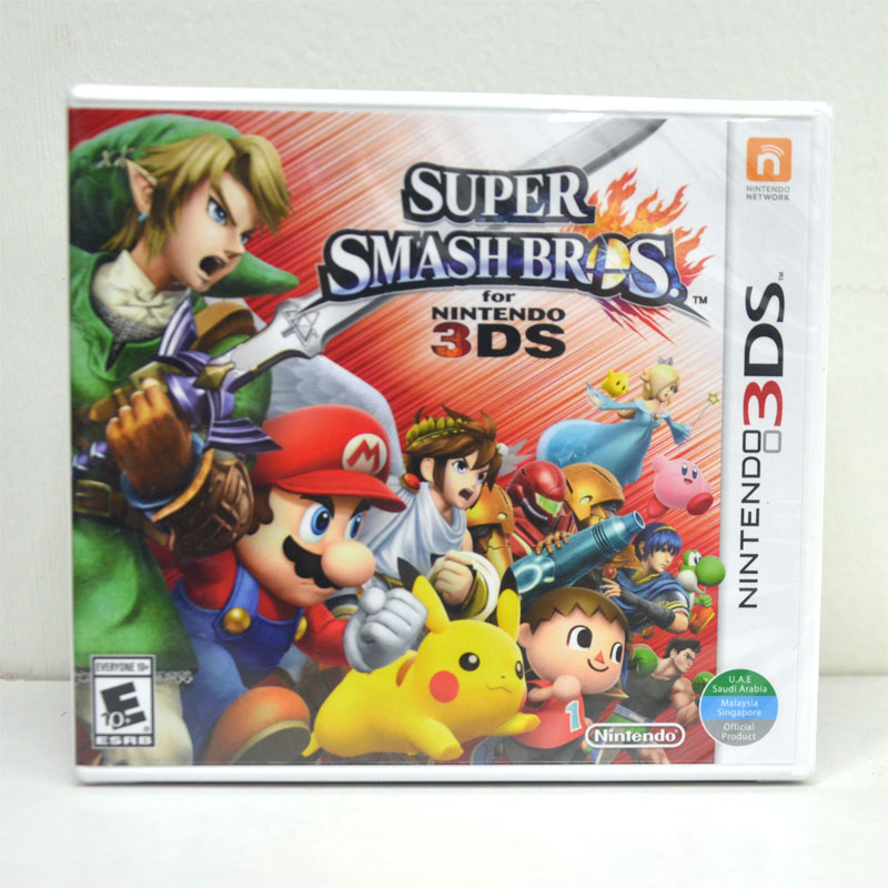 3DS (US) Super Smash Bros.