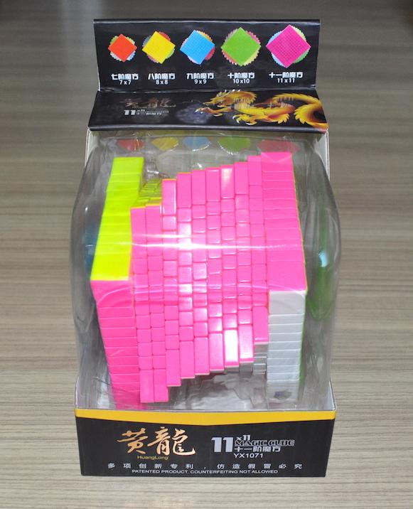 Yuxin HuangLong 11x11x11 Stickerless