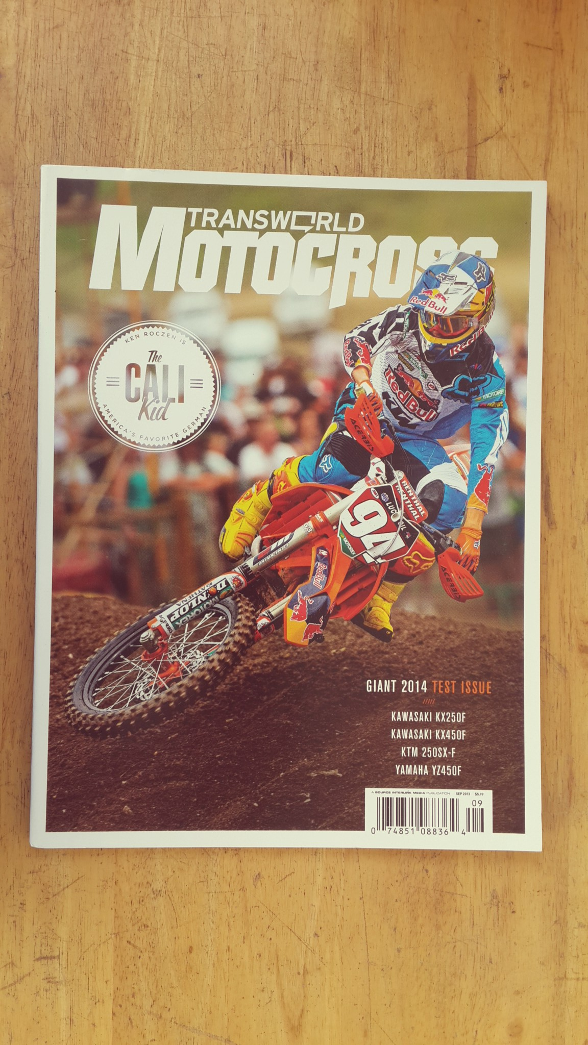 TRANSWORLD MOTOCROSS : SEPTEMBER 2013
