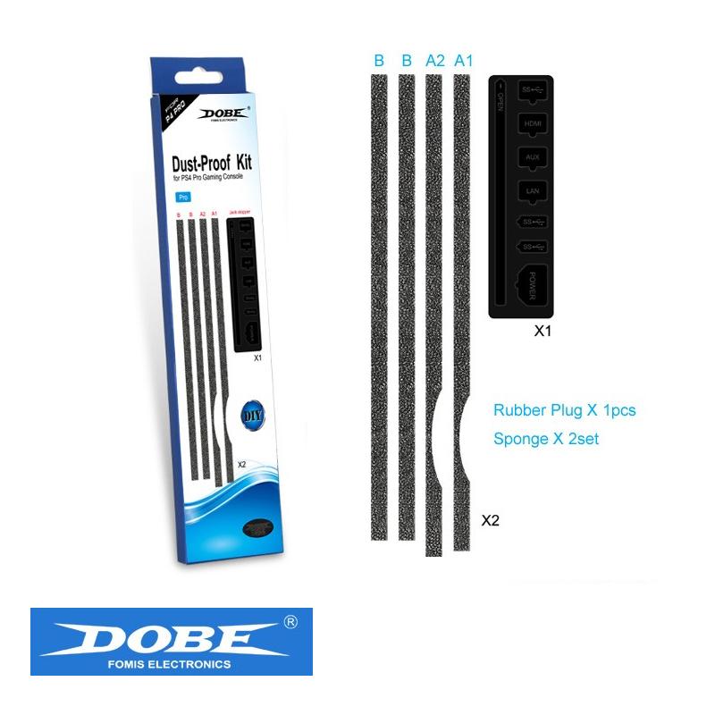 อุปกรณ์แผ่นปิดกันฝุ่น PS4 Pro ++ Dobe™ Dust-Proof Kit for PS4 Pro ราคา 250.-