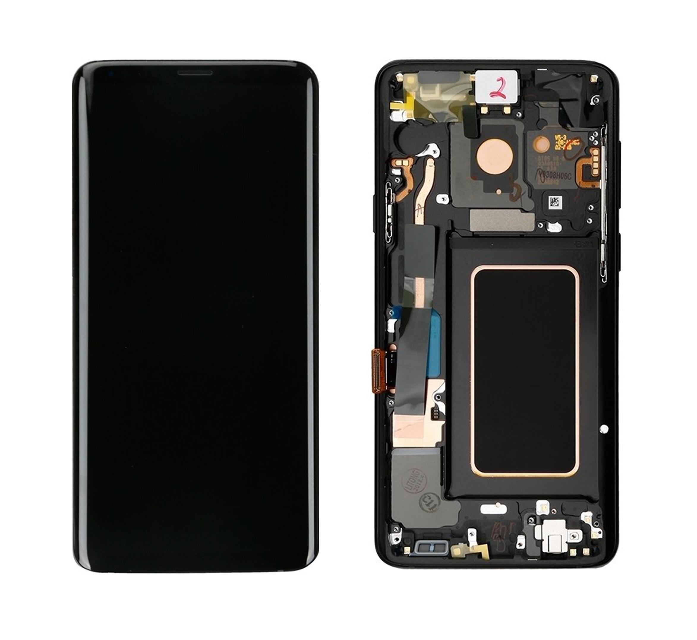 ราคาหน้าจองานแท้ Samsung S9 สีดำ แถมฟรีไขควง ชุดแกะเครื่อง+กาวติดหน้าจอ