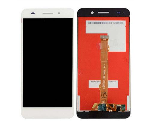 ราคาหน้าจอชุด+ทัชสกรีน Huawei Y6II สีขาว แถมฟรีไขควง ชุดแกะเครื่อง อย่างดี