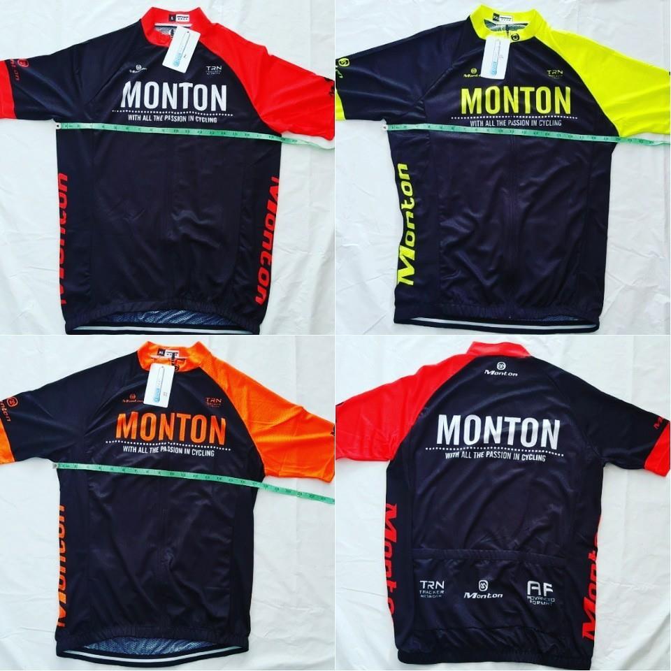 เสื้อปั่นจักรยานแขนสั้น ยี่ห้อ Monton