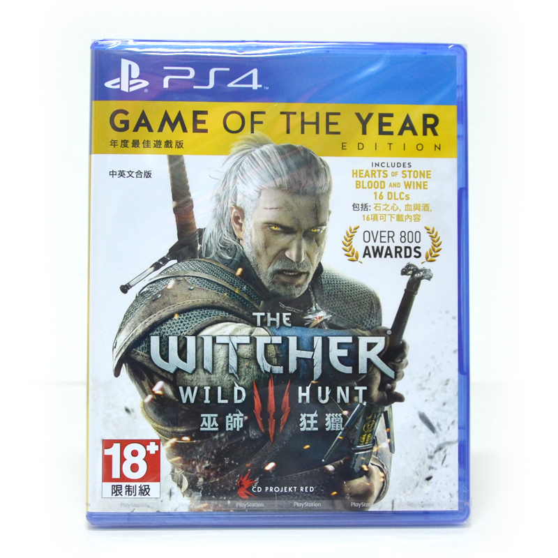 PS4™ The Witcher 3: Wild Hunt [Game of the Year Edition] Zone 3 Asia/ English