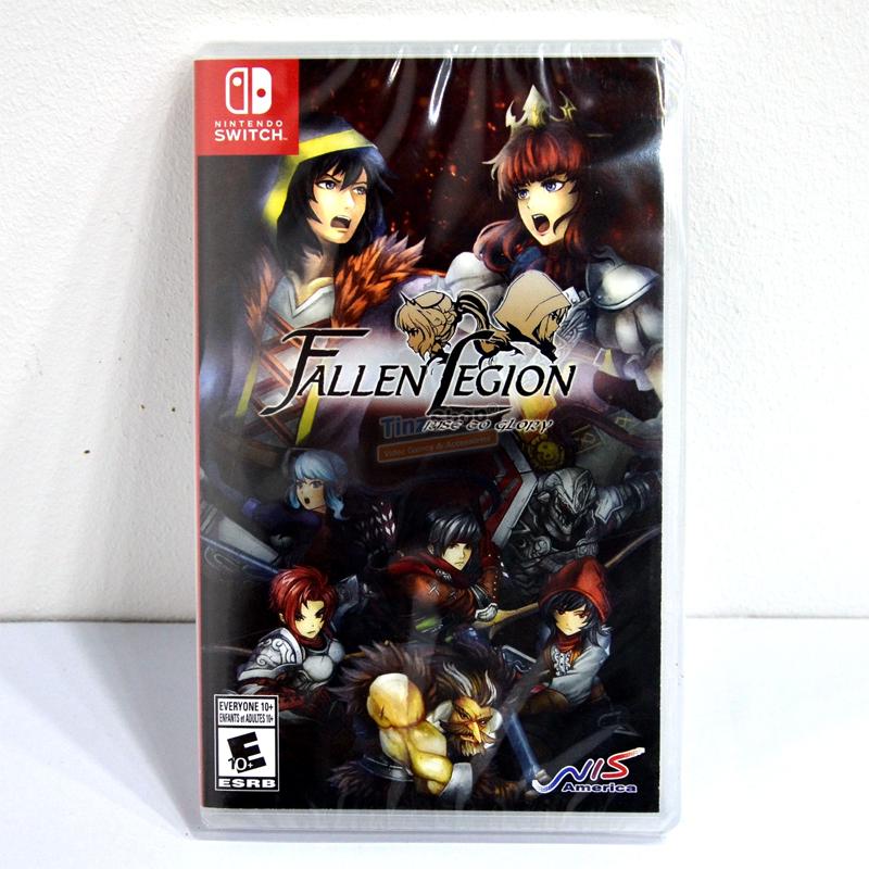 Nintendo Switch Fallen Legion: Rise to Glory Zone US / English ราคา 1390.-