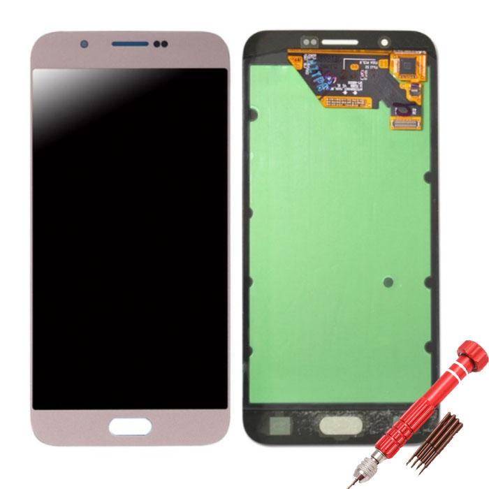 ราคาหน้าจอชุดแท้ Samsung A8 (2015) A800 แถมฟรีไขควง ชุดแกะเครื่อง+กาวติดหน้าจอ