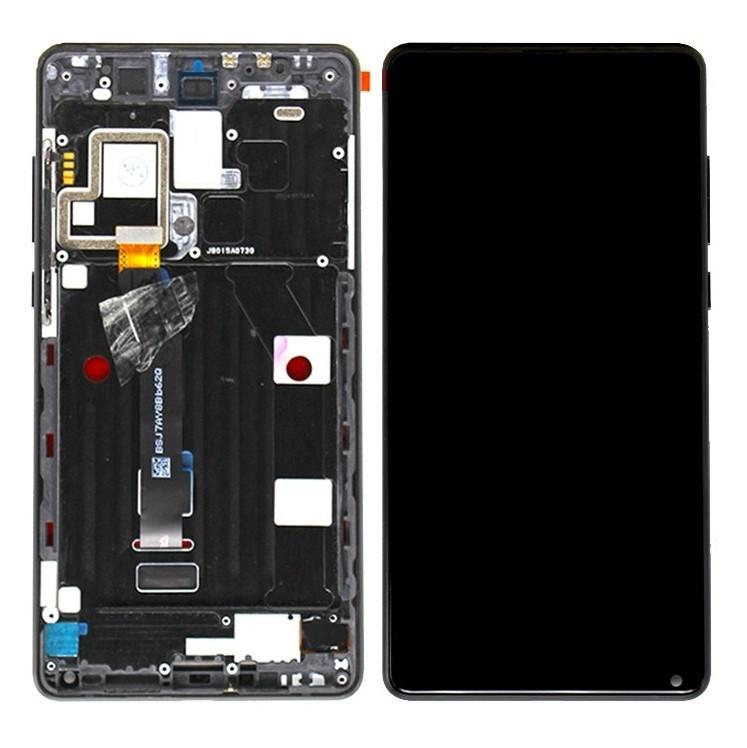 ราคาหน้าจอชุด+ทัสกรีน Xiaomi Mix 2 อะไหล่เปลี่ยนหน้าจอแตก ซ่อมจอเสีย สีดำ (จอแท้)