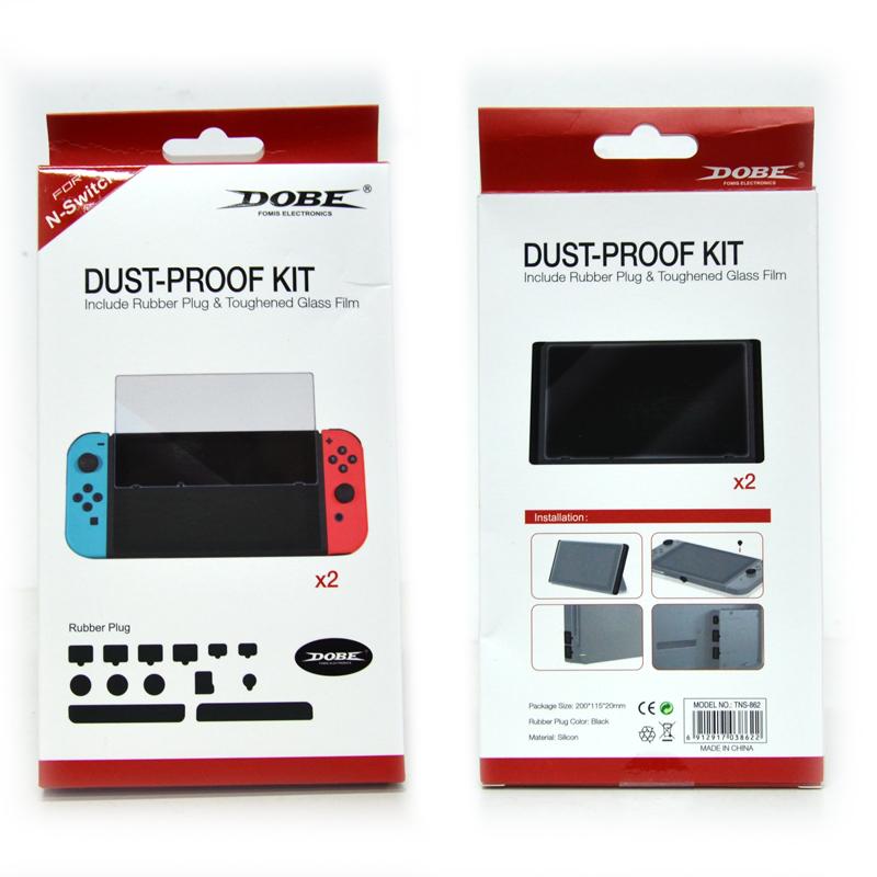 ++ อุปกรณ์แผ่นปิดกันฝุ่น N-Switch ++ Dobe™ Dust-Proof Kit for Nintendo Switch ราคา 350.-