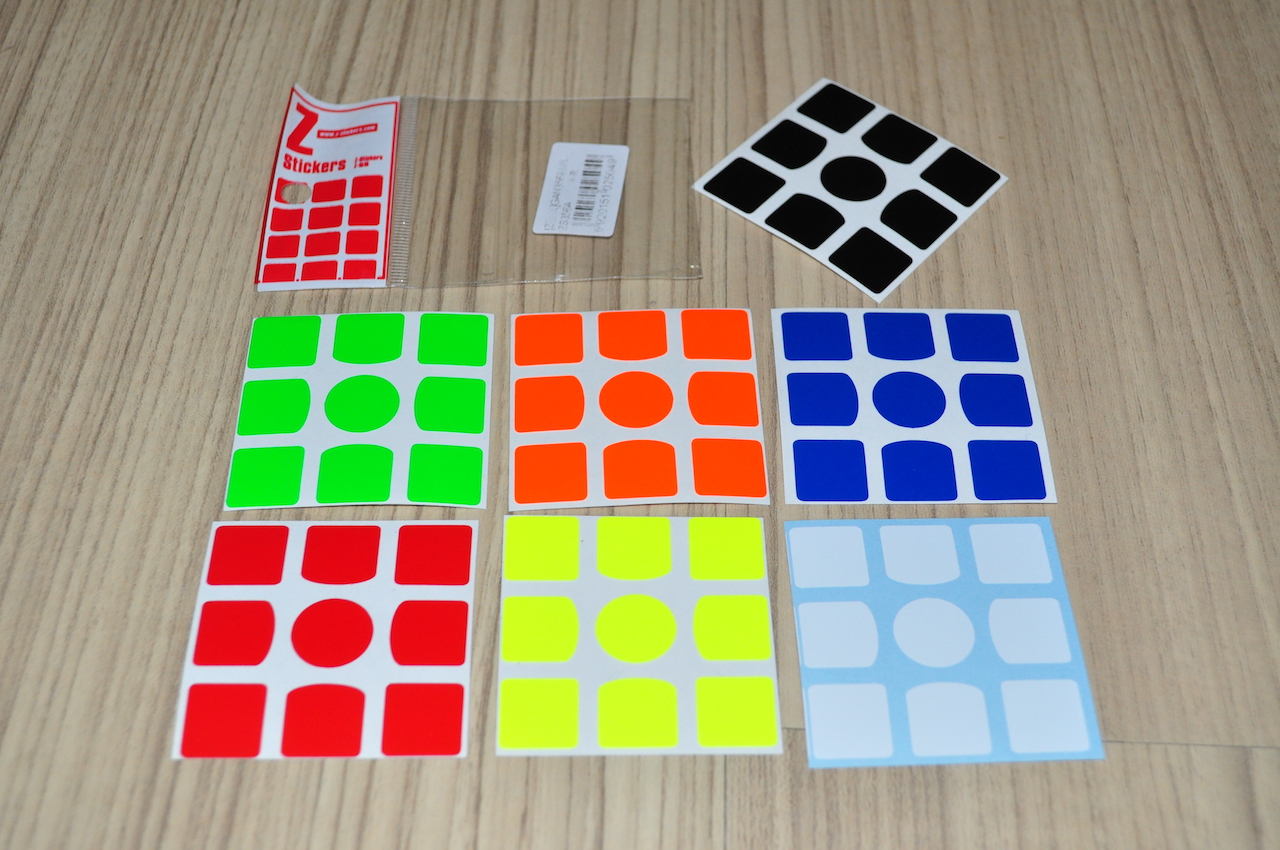 Z-Stickers for GAN 356 Half-Bright [ZS356A]