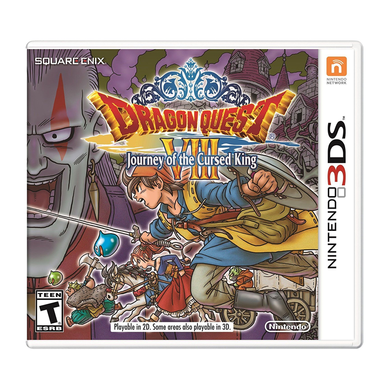 3DS™ Dragon Quest VIII: Journey of the Cursed King Zone US/ English