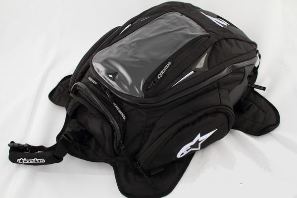 กระเป๋าติดถัง Alpinestar สีดำ